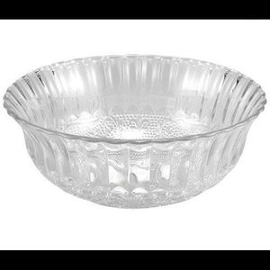 Other - Decorative Clear Glass Bowls(3 total)